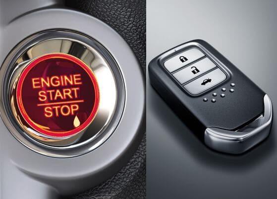 Engine Start/Stop & Honda Smart Key System