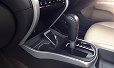 FRONT CONSOLE CUP HOLDERS