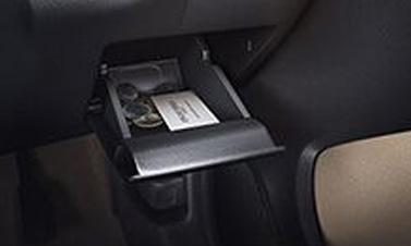 DRIVER SIDE COIN POCKET