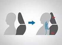 Impact Mitigating Front Headrests