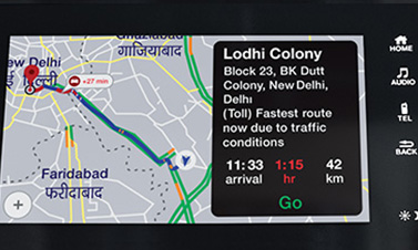 Navigation Through Apple CarPlay™