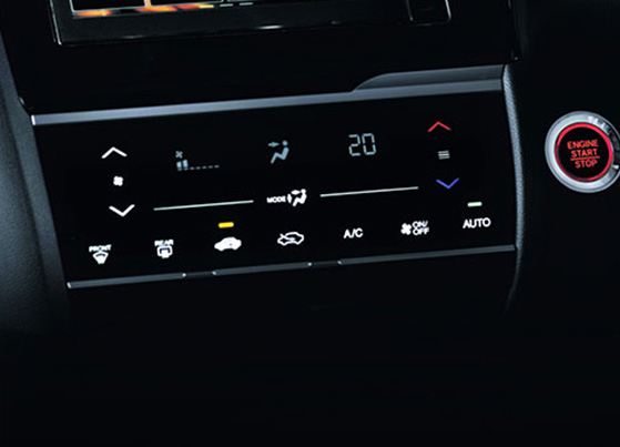Auto AC with Touchscreen Control Panel
