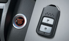 One-Push Start/Stop Button with Smart Key