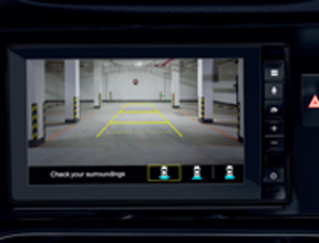 MULTI VIEW REAR PARKING GUIDELINES